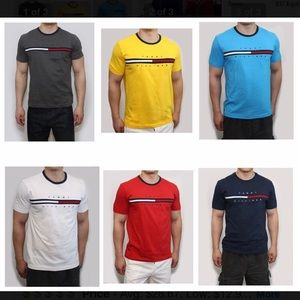 TOMMY HILFIGER TINO TEES (100% authentic)